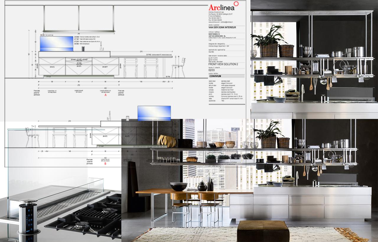 Arclinea Convicium collage