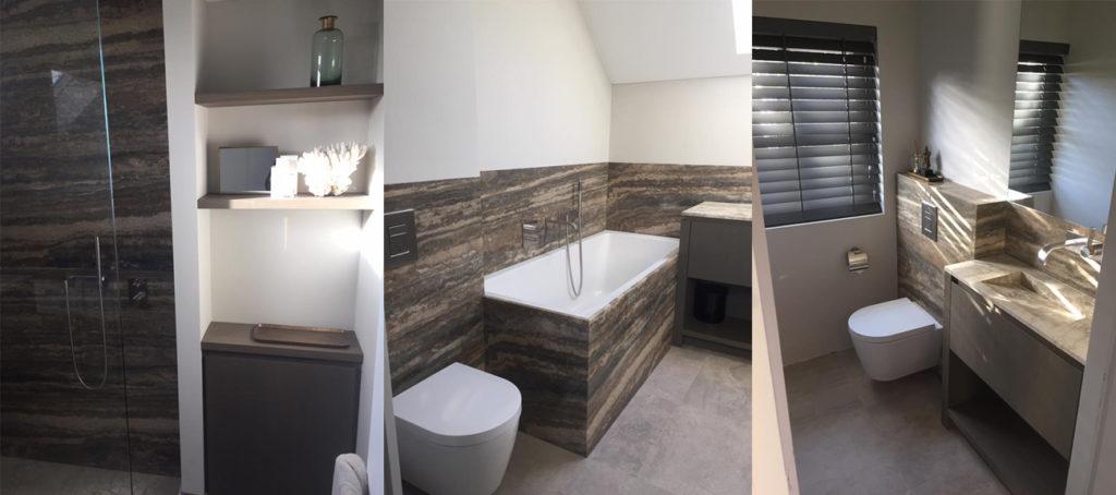 Natuursteen badkamer inspiratie